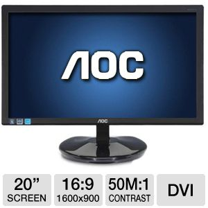 AOC Led 20 inch Wide