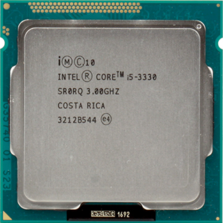 Cpu- I5 3330+ Fan Zin