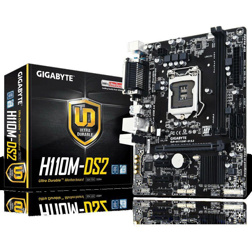 Gigabyte H110M- DS2 : BH 3TH