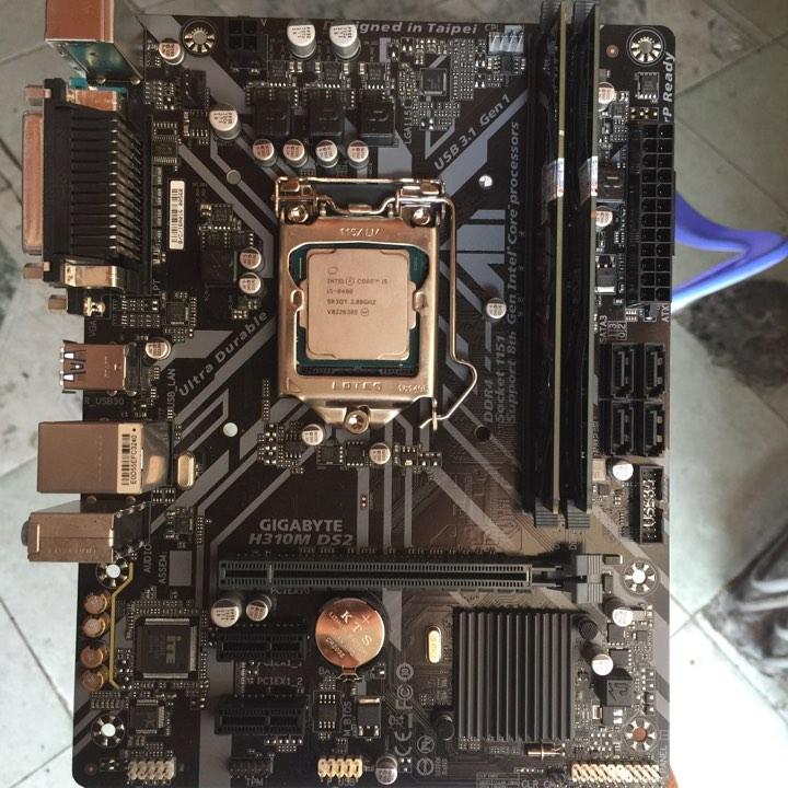 Gigabyte H310+ i5 8400+ 8Gb ram