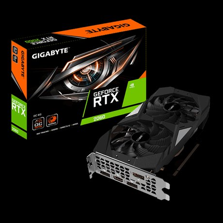 GIGABYTE RTX  2060 OC 6GB