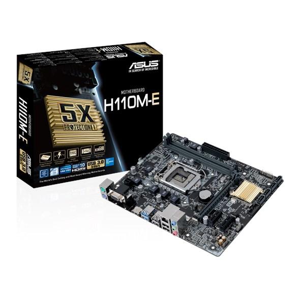 H110M-E + I3-6098P + 8G Ram