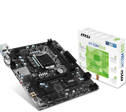 MSI H110M-ECO