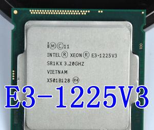 XEON -E3-1225V3